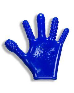 Finger Fuck Handschoen - Blauw kopen