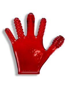 Finger Fuck Handschoen - Rood kopen