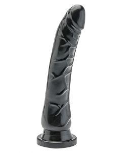 Get Real Dildo Met Zuignap 22 cm Zwart