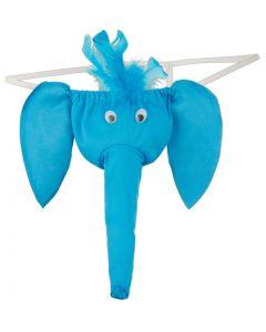 Heren olifanten string los