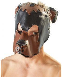 Honden Hoofd Masker voorkant