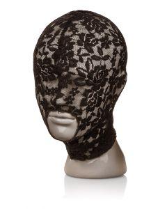 Kanten Hoofd masker - Zwart kopen