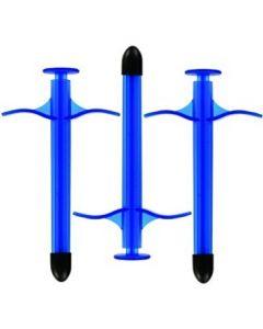 Spuit voor Glijmiddel - The Lube Shooter KinkLab - Blauw