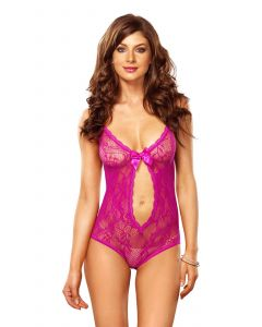 Roze kanten body
