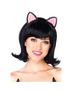 Kitty Kat Bob Pruik - Zwart