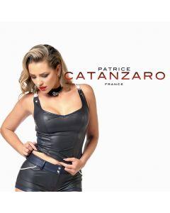 Patrice Catanzaro Peggy Top - Zwart / Blauw