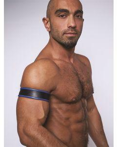 Mister B Biceps Band - Zwart / Blauw