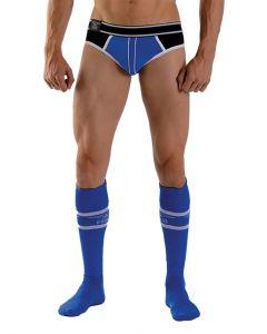 Mister B Urban Football Socks - Blauw