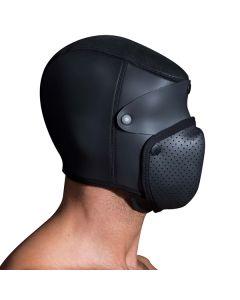Neoprene Bondage Masker 2.0 Small / Medium zijkant