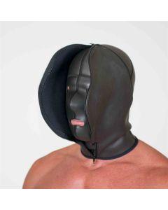 Neoprene Confinement Hood S/M - Zwart zijkant