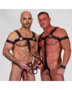 Neoprene Bulldog Harness - Ring