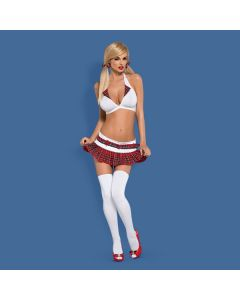 Schooly 5-Delig Rollenspel Kostuum volledig voorkant