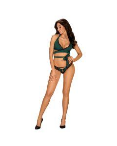 Obsessive Sensuelia Set - Groen modelfoto voorkant