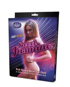 Opblaaspop Sweet Jasmine met 3 Ingangen kopen