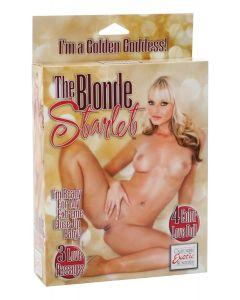 Opblaaspop The Blonde Starlet