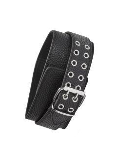 Halsband met O-ring- Zwart
