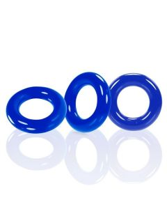 Oxballs Willy Cockring 3 Pack - Blauw