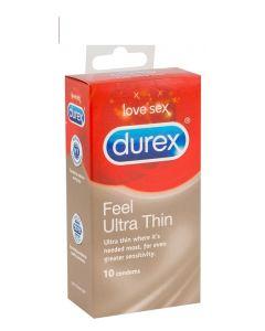 Durex Feel Ultra Thin - 10 Stuks
