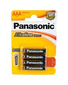 Panasonic AAA Batterijen - 4 Stuks