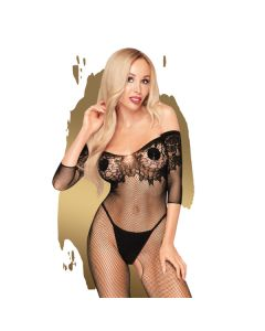 Penthouse High Profile Bodystocking - Zwart voorkant