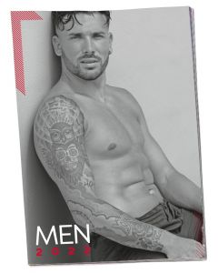 Pin-up Kalender Soft Men 2022 voorkant