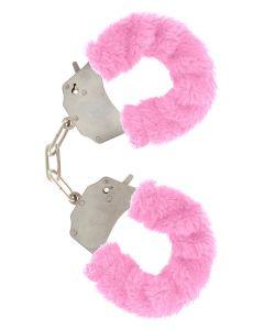 Pluchen Handboeien - Roze kopen