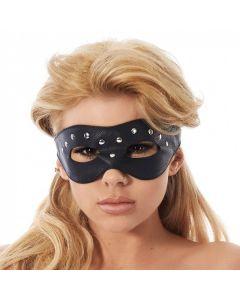 Rimba Open oogmasker versierd met nieten