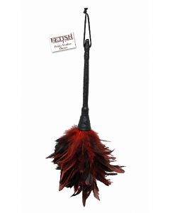 Rood Zwarte Veer - Fetish Fantasy kopen