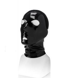 Rubberen Masker met Gaten Rond de Ogen en Mond- M