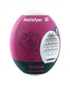 Satisfyer Masturbator Egg - Bubble voorkant
