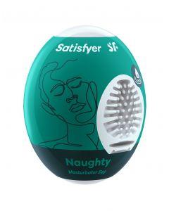 Satisfyer Masturbator Egg - Naughty voorkant