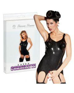 Schitterend jarretelles-corselet