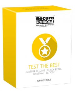 Secura Condooms - Test the Best 100 St.
