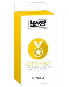 Secura Condooms - Test the Best 24 St.