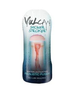Vulcan Shower Stroker - Realistic Pussy verpakking
