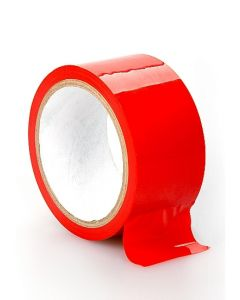 Niet Klevende Rode Bondagetape - 20 meter