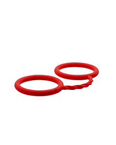 Siliconen Handboeien Rood - BondX