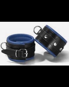Smalle Slaven Polsboeien Zwart/Blauw - 6.00 cm