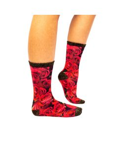 Sock My Roses of Love - Dames Sokken