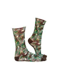 Sock my jungle queen zijkant