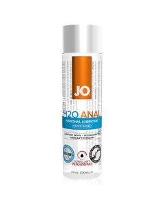 System JO - Anaal H2O Glijmiddel Warm 120 ml