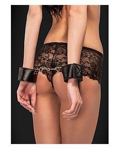 Reversible Wrist Cuffs - Black