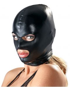 Zwart Hoofdmasker - Bad Kitty