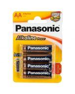 Panasonic AA Batterijen - 4 Stuks