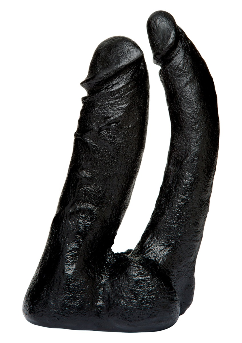 Image of Dubbele Dildo Double Penetrator - Zwart