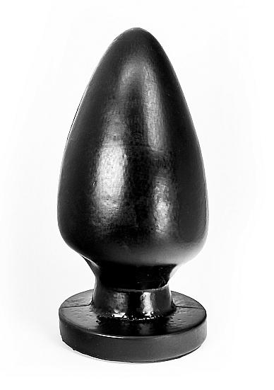 Image of Buttplug Egg - Black - 21,5 cm