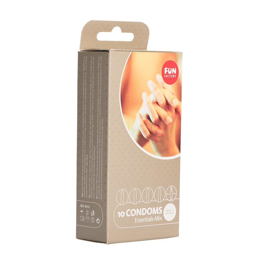 Image of Essentials Condoom Mix - 10 Stuks