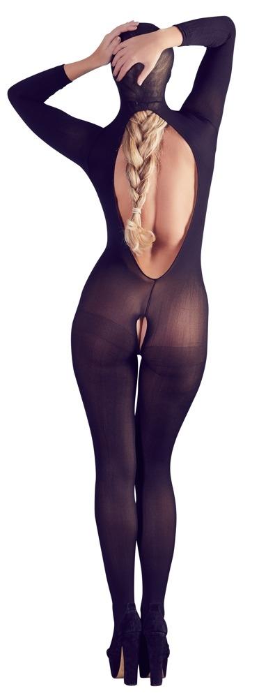 Image of Full Body Catsuit met Open Rug en Open Kruis