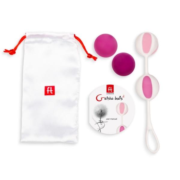 Image of G-vibe Geisha Balls 2 - Roze
