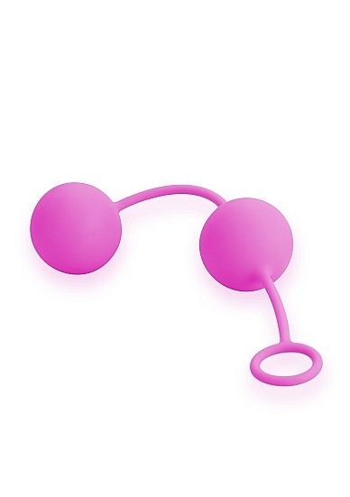 Image of Geisha Twin Balls Deluxe - Pink
